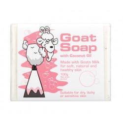 Goat Soap Australia-Goat Soap With Coconut Oil 100g