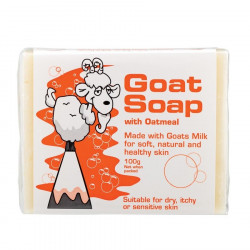 Goat Soap Australia-Goat Soap with Oatmeal 100g