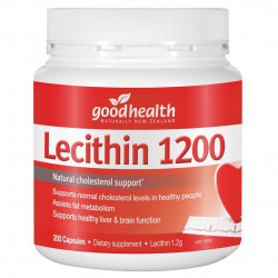 Goodhealth-Lecithin 1200mg 200 Capsules
