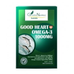 Goodlife Nutrition-Good Heart Omega 3 365 Capsules