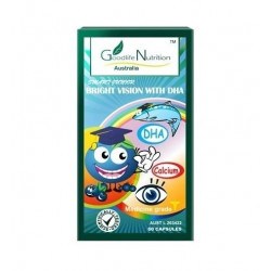 Goodlife Nutrition-Children's Bright Vision With DHA 60 Capsules