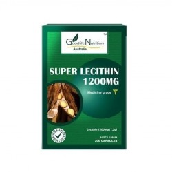 Goodlife Nutrition-Super Lecithin 1200mg 200 Capsules