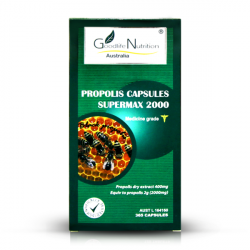 Goodlife Nutrition-Propolis Super Max 2000mg 365 Capsules