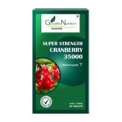 Goodlife Nutrition-Super Strength Cranberry 35000 60 Capsules