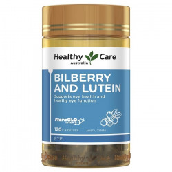 Healthy Care-Bilberry and Lutein 120 Capsules