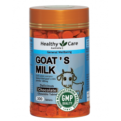 Healthy Care-Goat's Milk Chocolate Chewable 300 Tablets