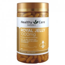 Healthy Care-Royal Jelly 1000mg 365 Capsules