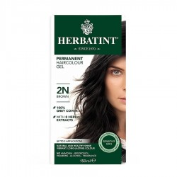 Herbatint-Permanent Haircolour Gel 2N Brown 150ml