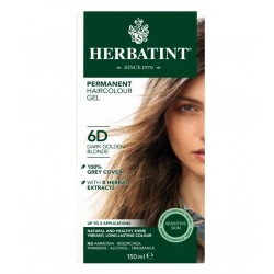 Herbatint-Permanent Haircolour Gel 6D Dark Golden Blonde 150ml