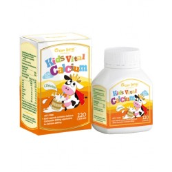 Toplife-Kids Vital Calcium 120 Capsules