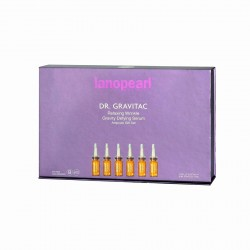 Lanopearl-Dr. Gravitac Relaxing Wrinkle Gravity Defying Serum Ampoule Gift Set 60ml