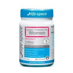 Lifespace-Urogen Probiotic For Women 60 Capsules