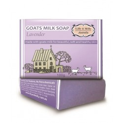 Lilly & Milly-Goats Milk Soap Lavender 100g