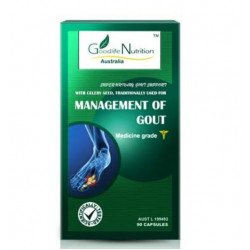 Goodlife Nutrition-Management of Gout 90 Capsules