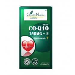 Goodlife Nutrition-Maxi Co-Q10 + Vitamin E 150mg 60 Capsules
