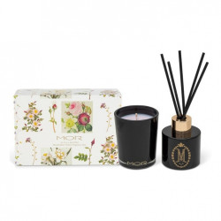 MOR-Buds & Blossoms In Full Bloom Marshmallow Diffuser & Candle Duo