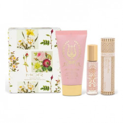 MOR-Buds & Blossoms Tender Buds Marshmallow Hand Cream & Perfume Oil Duo