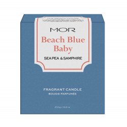 MOR-Sea Pea & Samphire Scented Home Library Fragrant Candle 250g