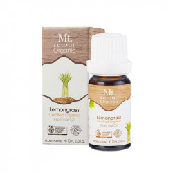 Mt Retour-Lemongrass Essential Oil Certified Organic 10ml