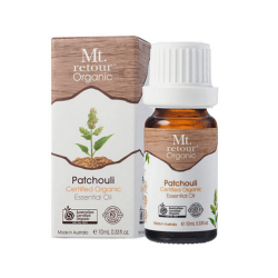 Mt Retour-Patchouli Essential Oil Certified Organic 10ml
