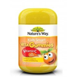 Nature's Way-Kids Smart Vita Gummies Vitamin C + Zinc 60 Pastilles