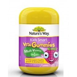 Nature's Way-Kids Smart Vita Gummies Multi Vitamin & Vegies 60 Pastilles |