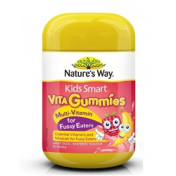 Nature's Way-Kids Smart Vita Gummies Multivitamin for Fussy Eaters 60 Pastilles |