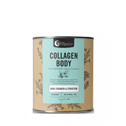 Nutra Organics-Collagen Body with Fortibone Vitamin D & Calcium Unflavoured 225g