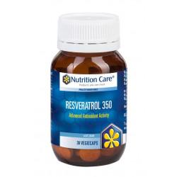 Nutrition Care-Resveratrol 350 30 Vegiecaps