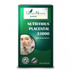 Goodlife Nutrition-Nutritious Placental 33000 100 Capsules