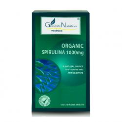 Goodlife Nutrition-Organic Spirulina 1000mg 100 Tablets