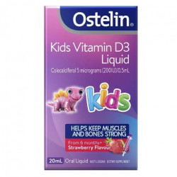 Ostelin-Vitamin D Liquid Kids 20ml Oral Liquid