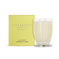 Peppermint Grove-Coconut & Lime Soy Candle 350g