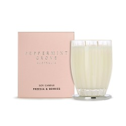 Peppermint Grove-Freesia & Berries Soy Candle 350g