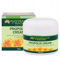 Australian by Nature-Propolis Cream with Vitamin E, Collagen & Elastin 100g