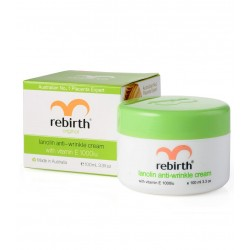 Rebirth-Lanolin Anti Wrinkle Cream with Vitamin E 100ml