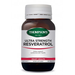 Thompson's-Ultra Strength Resveratrol 60 Tablets