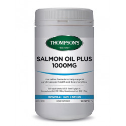 Thompson's-Salmon Oil 1000mg 300 Capsules