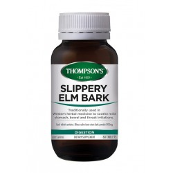 Thompson's-Slippery Elm Bark Chewable 60 Tablets