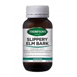 Thompson's-Slippery Elm Bark Chewable 60 Tablets