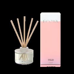 Ecoya-Sweet Pea & Jasmine Mini Fragranced Diffuser 50ml