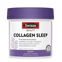 Swisse-Beauty Collagen Sleep Natural Peach Flavour 240g