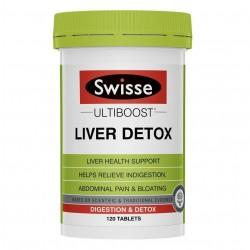 Swisse-Liver Detox Ultiboost 120 Tablets