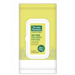 Thursday Plantation-Tea Tree Face Wipes for Acne 25 Wipes
