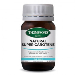Thompson's-Natural Super Carotene 60 Capsules