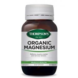 Thompson's-Organic Magnesium 50 Tablets