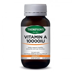 Thompson's-Vitamin A 10000IU 150 Capsules