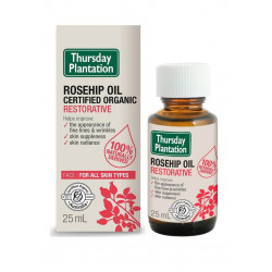Thursday Plantation-Certified Organic Rosehip Oil 25ml