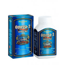 Toplife-Omega-3 Contains Salmon Oil 1000mg Max 180 Capsules (Last Chance)