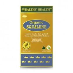 Wealthy Health-Organic Squalene 1000mg 365 Capsules